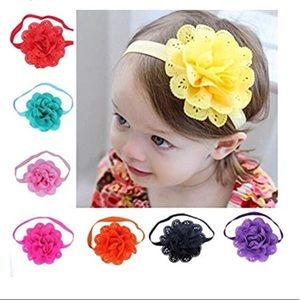 Other - Baby girls flower headbands
